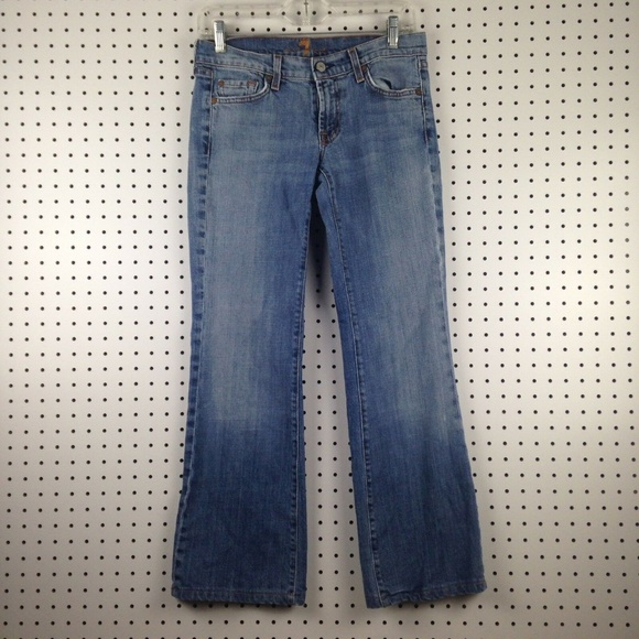 7 For All Mankind Denim - 7 For All Mankind 74AM Women's Bootcut Jeans Pants